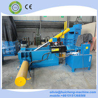 Hydraulic automatic scrap metal press baler machine for sale
