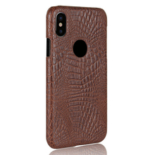 Mobile phone case for iphone 8 crocodile pattern leather case,back cover case for iphone 8