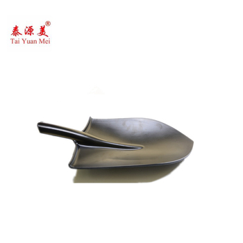 2018 Various Plate Shapes High Quality Disposable Creative Black Melamine Shovel plates