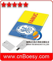 promotion good quality custom memory card USB paper Webkey for business advertisement use