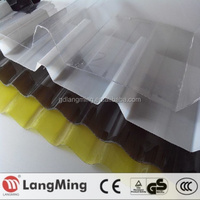 clear polycarbonate plastic roof tile