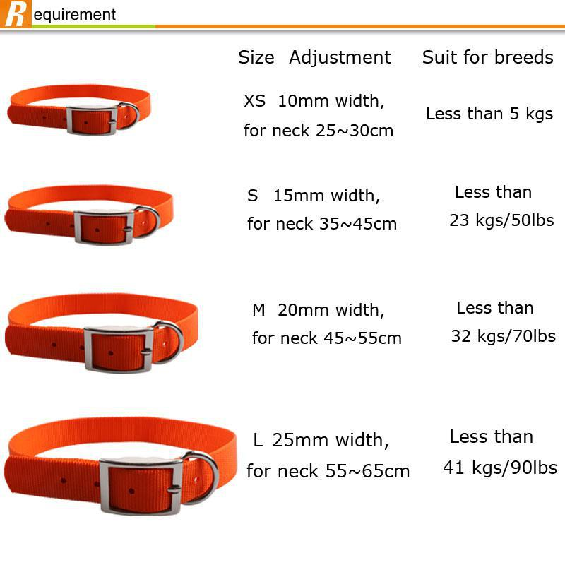 Cheap Personalized Products Pet Accessories Jacquard Dog Collars for bulk sale