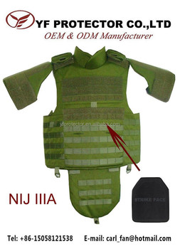 BODY ARMOR MOLLE BULLET PROOF VEST