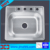 Topmounted One Number of Holes washing sink 6356A