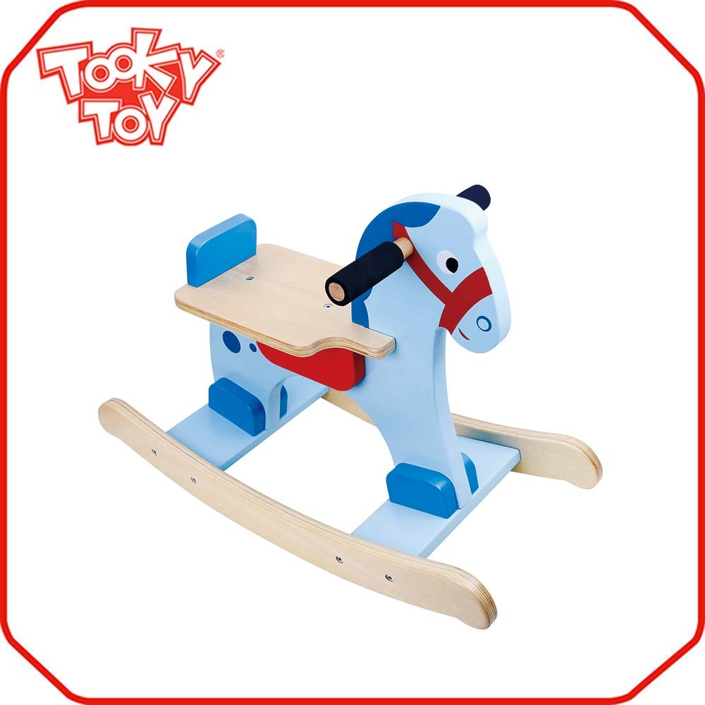 Top selling wholesale cheap custom wood toy horse