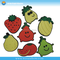 Fruit Shape Souvenir Soft PVC Magnet Fridge Magnet