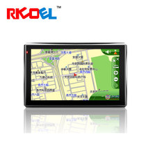 "5"" Bluetooth car gps navigation with 4GB nand flash and map"