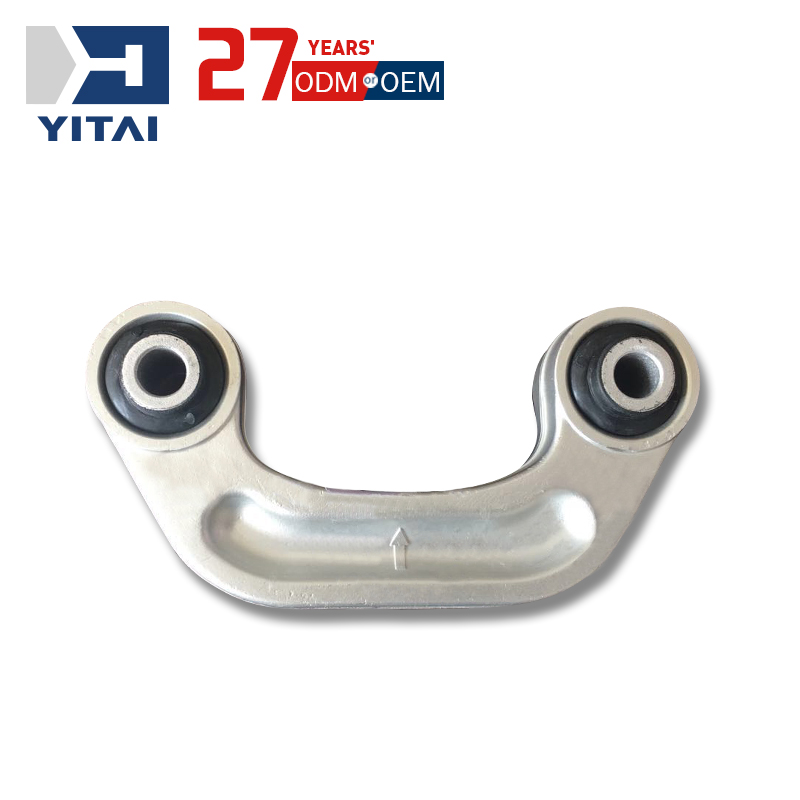 Aluminum Die Casting White Silver Car Parts Rocker Rear Sway Bar Lower Arm <strong>Connecting</strong> <strong>Rod</strong>