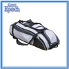 Outdoor gym sports trolley baseball bag hat travel duffel bag with roller wheels
