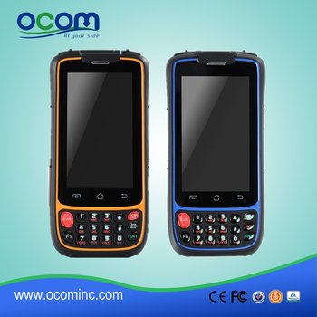 OCBS-D7000---China factory made screen handheld android pda