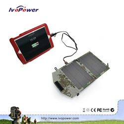 Outdoor Charger Hot Selling Solar Charger Foldable Digital Camera Laptop Iphone Mp3 Mp4 Solar Charger