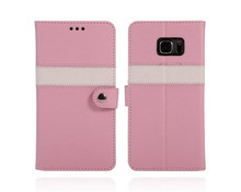 Premium PU Leather Flip for samsung galaxy s6 edge phone unlocked for samsung s6 edge phone for samsung galaxy s6 edge phone