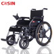 Adjustable armrest folding electric wheelchair with 24V 20AH lithium battery