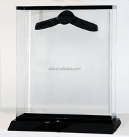 Acrylic box jersey display cases wholesale