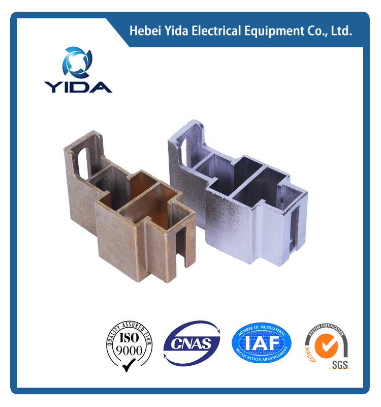hot-selling two holes plating/ grinding carbon brush holder for slip ring