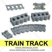 Plastic toys building blocks bricks part train track set 64022