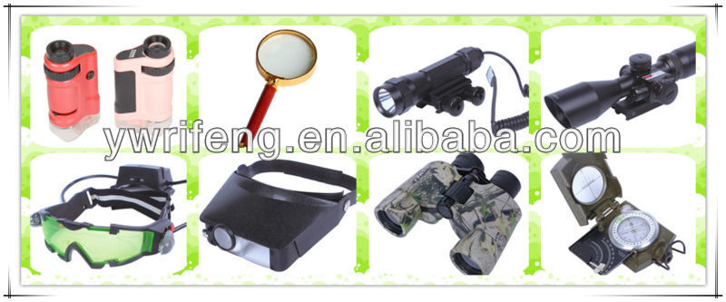 High quality 20x LED light magnifier watch repair headband magnifying