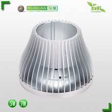 Super September 5% discount Custom aluminum extrusion heatsink / 60mm diameter led bulb lamp heat sink