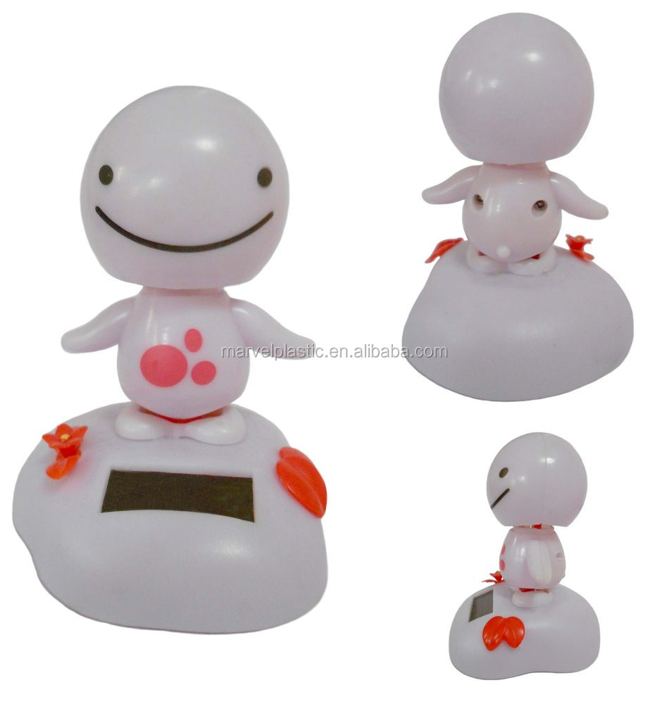 dancing solar toy figure doll