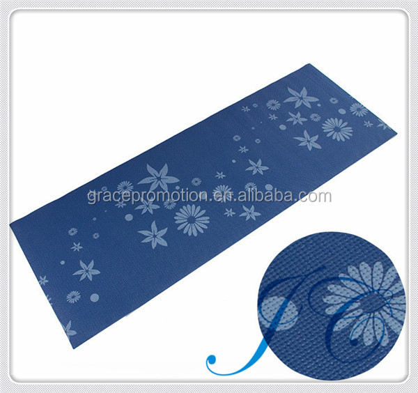 Hot sale ECO-friendly embossed PVC mat for yoga & eco yoga mat