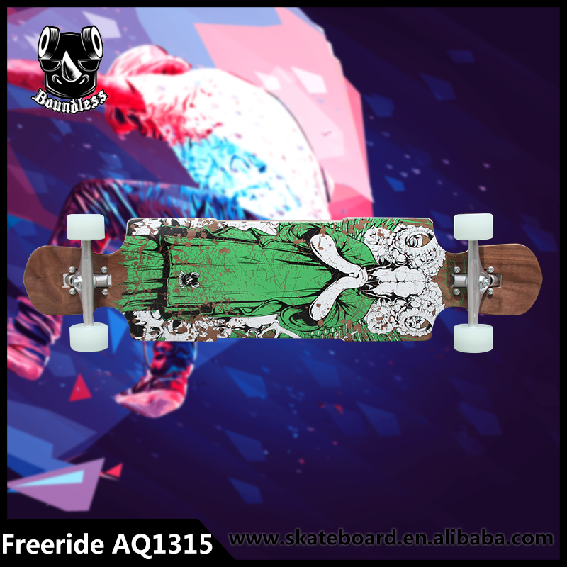 Wide Varieties Best Selling Drop Down / Drop Through Complete Longboards