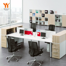 standard 4 people executive office desk modern dimensions