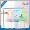 Encai Light Weight Mesh Folding Laundry Basket Durable Hanging Laundry Mesh Pouch Wholesale