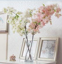 artificial cherry blossoms home decoratoin flower