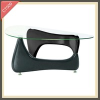 Hot sale style living room furniture modern design glass center table CT009
