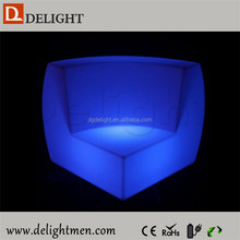 Cheap waterproof illuminated RGB remote control arabic living room furniture