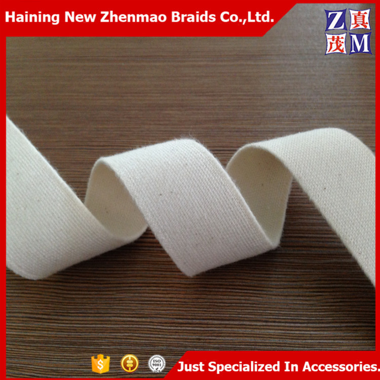 Wholesale China Zhejiang 1/1.25/1.5/2 inch 100% cotton elastic band