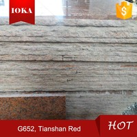 Maple Red Tian Shan Red Granite Slabs