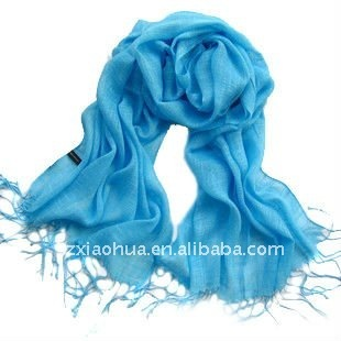 Fashion linen solid pashmina scarf