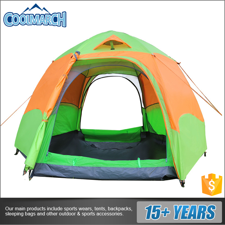 Outdoor travel protable and breathable mountaineering tents for sale