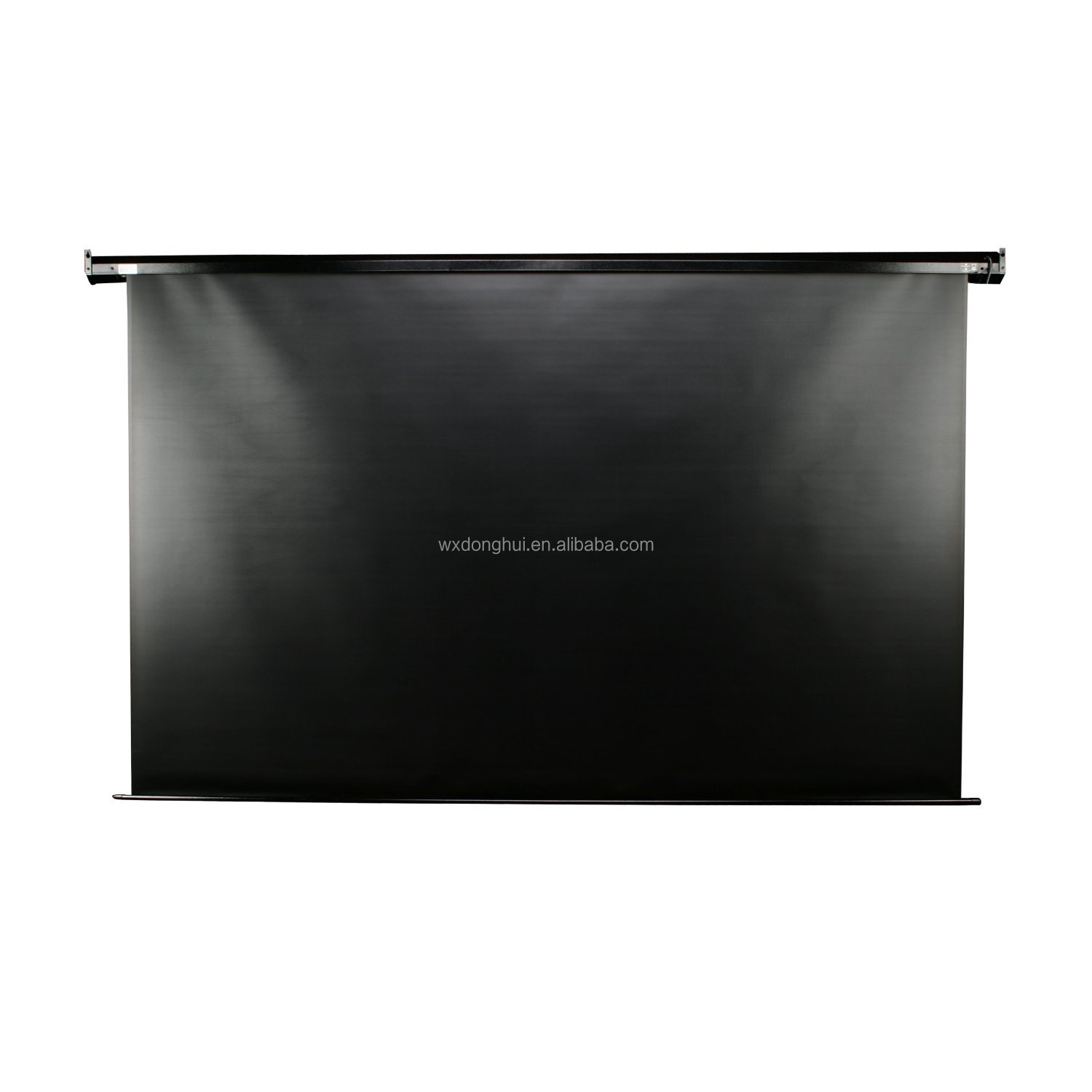 black projection screen fabric