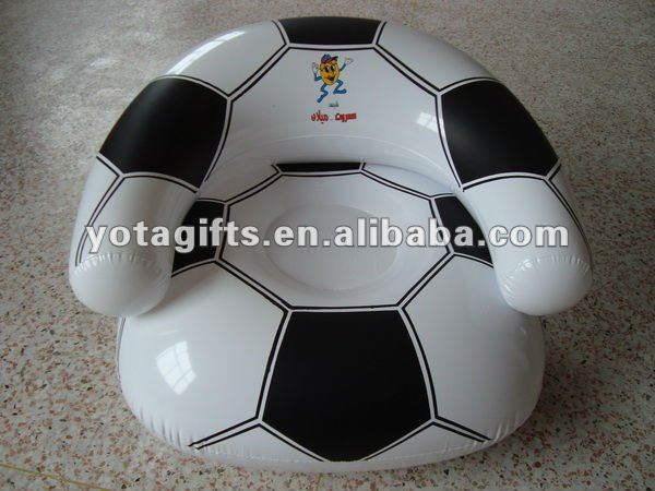 Inflatable rolling football design beach ball for kids