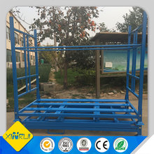 Storage tubular movable tyre rack