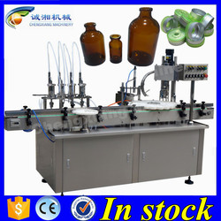 (In stock)Auto bottles washing and filling machine,filling capping machine