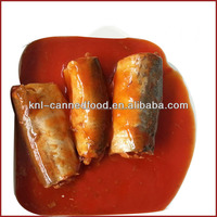 canned mackerel in chili tomato sauce 425gX24tins