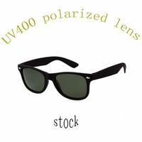 wholesale black soft rubber painting frame polarized rubber sunglasses 2015 uv400 in china