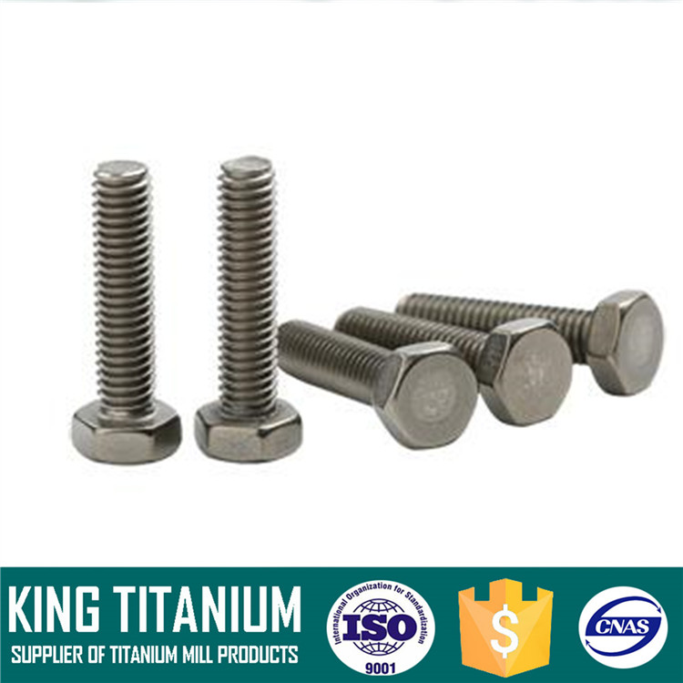 High Strength M6 Anodized Titanium Bolts for Bicycle Bike
