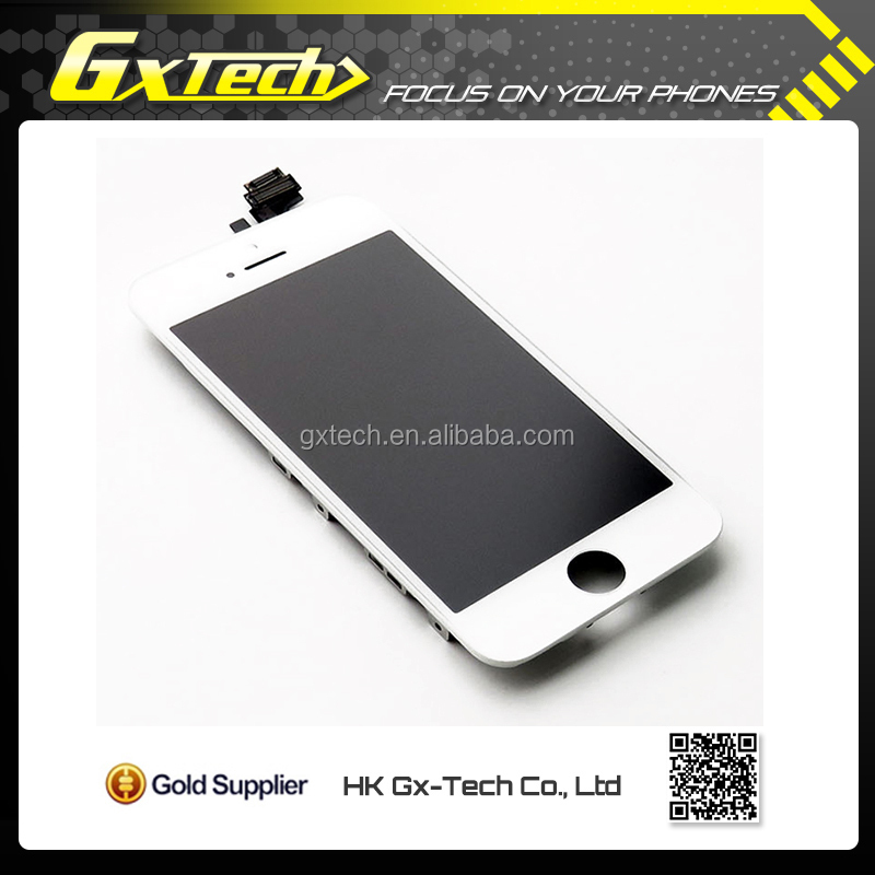 For Apple iPhone 5 5G Black Display LCD With Touch Screen Digitizer Replacement