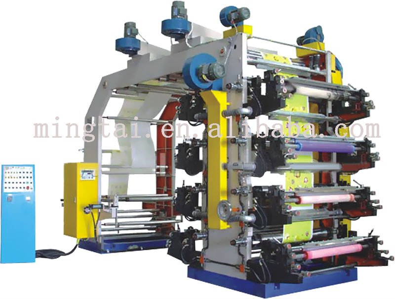Hot sale flexographic printing machine 8 color