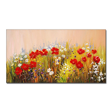 Hot Sell Flower Paintings Famous Artists
