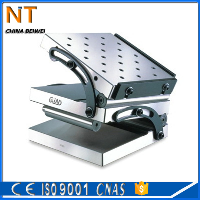 Supply Taiwan Jingzhan Sine Permanent Magnetic Chuck For Milling Cutter