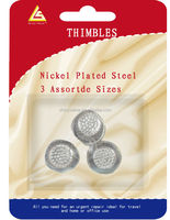 Different Types Nickel planted steel copper useful thimble factory