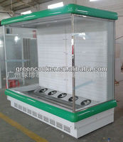 supermarket multideck display open chiller/showcases with doors