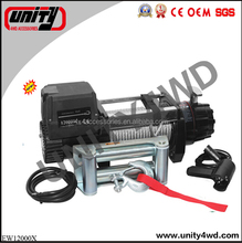 Unity Hot Customization Size CE Professional 4x4 manufacturer 12/24v DC 12000LBS Electric winch