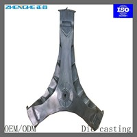 die casting aluminum washing machine parts tripod