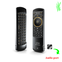 Super slim 2.4G Rii i25 wifi keyboard and mouse for tv logitech mouse wireless android mouse and keyboard combos